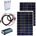 Solar Panel Amp Power Kits Letsgosolar Com